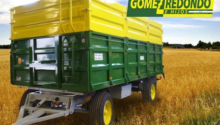 Remolque agricola 2 Ejes