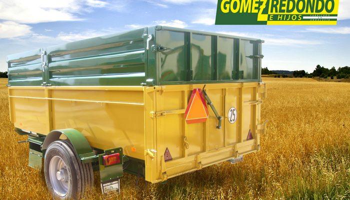 remolque Agricola 1 eje